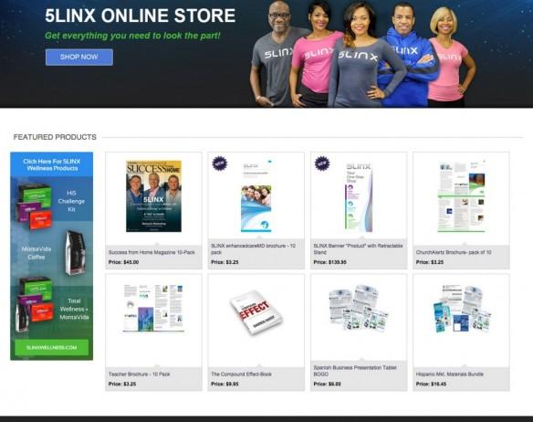 5LINX Online Store